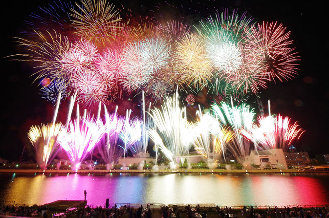Niigata City Fireworks Festival (Aug 7th)