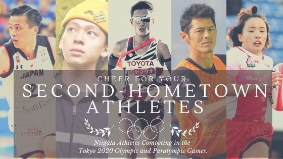 Cheer for your Niigata Hometown Olympic and Paralympic Athletes