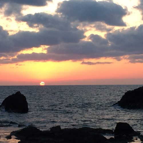 52 Sunsets over Sado