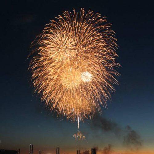 Kakizaki fireworks